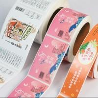 恩施彩色不干胶印刷卷标不干胶印刷防水耐撕不干胶印刷