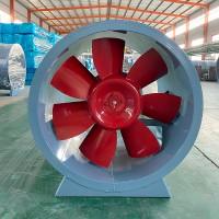 轴流式消防排烟风机_HTF消防排烟风机_消防高温排烟风机