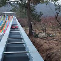揭阳雪地电梯设备输送作业 乘坐魔毯爬山诺泰克产品