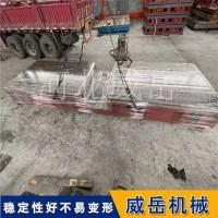 龙门刨床加工试验平台-铸铁平台成本低