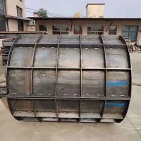 圆形污水检查井模具适用范围  检查井砌块模具生产厂家
