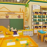 如今开菠萝树儿童益智玩具加盟店赚钱吗
