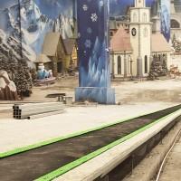 天水滑雪场魔毯代步输送带 景区魔毯运行需注意事项