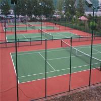 加工定做学校绿色球场围网 公园运动场菱形勾花围栏