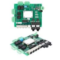 本安型低功耗5口+4路串口嵌入式交换机煤矿交换机