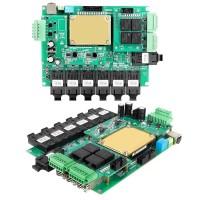 网管型7+3G+4数据口千兆嵌入式低功耗工业以太网交换机