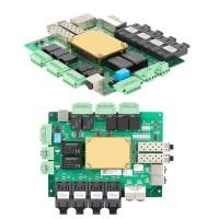 网管型8+2G+5数据口千兆嵌入式低功耗工业以太网交换机