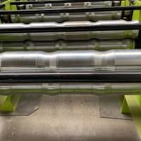 商丘_台安红旗压瓦机_铂锐水波纹双层压瓦机_用五十+年的好机器彩钢瓦机器