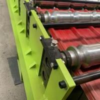南阳_汝城红旗压瓦机_老鹰商网铁皮机_可以使用50年的彩钢瓦机器设备