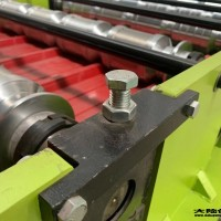 鹤壁_贵德金利压瓦机_圆弧850型_可以使用五十年的彩钢瓦机器设备