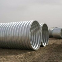 涵洞波纹管 钢波纹涵管 镀锌波纹涵管生产厂家