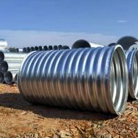 直径1米钢制波纹涵管 镀锌钢波纹管涵 涵洞排水波纹管价格