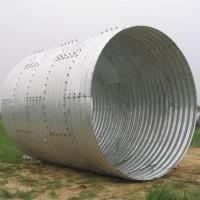 厂家直供 镀锌波纹管涵 拱形波纹涵管 隧道加固波纹板