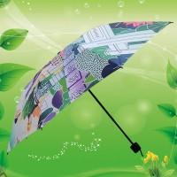 数码印广告雨伞 东莞雨伞厂 三折数码印雨伞 佛山太阳伞厂
