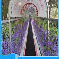 诺泰克七彩滑道可根据季节特点场地大小建造人工彩虹滑道