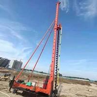 河北CFG桩机~河北鼎峰工程公司供应23米长螺旋钻机