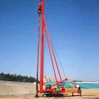 吉林环保挤密桩机 鼎峰工程公司供应履带钻机