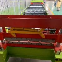 周口_利川红旗压瓦机_华泰全自动双层压瓦机_好的彩钢瓦机能用50+年
