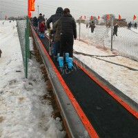湖南怀化滑雪场魔毯电梯安装 诺泰克雪地爬坡助手