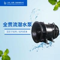 湖南长沙排涝泵站的全贯流潜水电泵