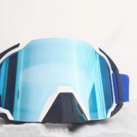户外运动眼镜PC双层防雾偏光护目镜透气海绵防风沙抗冲击滑雪镜