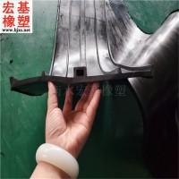 辽宁外贴式橡胶止水带 EB型EP型橡胶止水带规格定制