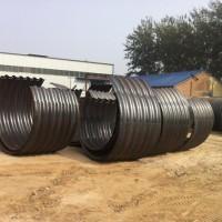 钢制波纹涵管厂家 金属波纹涵管 镀锌波纹涵管每米价格