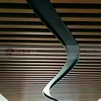 长沙铝方通吊顶/长沙木纹铝方通/长沙铝方通厂/卡式龙骨定制