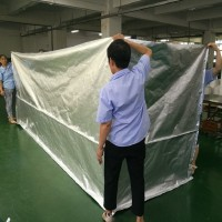 五面立体四方铝箔袋抽真空机械铝箔包装袋批发