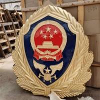 消防徽制作厂家 消防队室内外消防徽定制 立体铝合金警徽定做