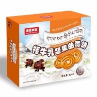 麦麦纳琪坚果曲奇牦牛奶饼干货源